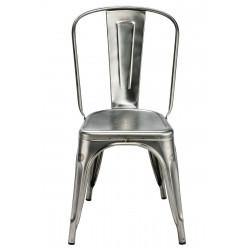 Chaise A de marque Tolix en métal