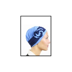 turban rio bleu