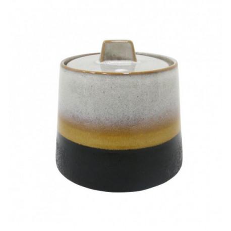 Sucrier céramique look 70'S HK Living