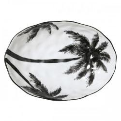Plat porcelaine Jungle