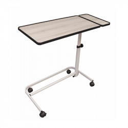 Table de lit spécial fauteuil bois cérusé