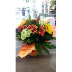 Bouquet bulle rond