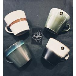 Tasses Cappucino en céramique (par 4)