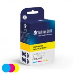 Cartouche d'encre HP 62 XL Couleur rechargée
