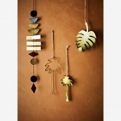 Décoration Palmier doré