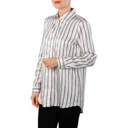Chemise Longue rayée