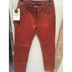 Pantalon 7/8 Brique
