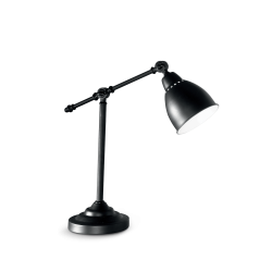 IDEAL LUX Lampe Newton Noire