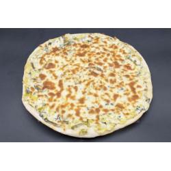 Pizza Flamiche aux poireaux