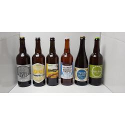 Pack de 6 bières artisanales spécial découverte