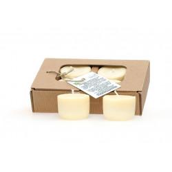 lot de 4 bougies parfumées aux huiles essentielles composition Calmante