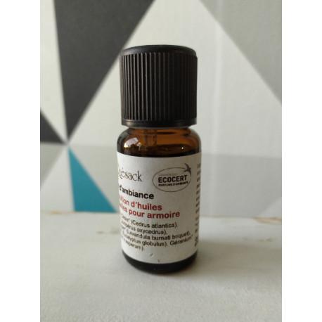 composition d'huiles essentielles pour Armoire 15 ml