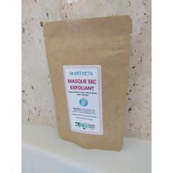 masque sec exfoliant 60 gr (labels nature et progrès, slow cosmétique)