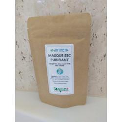 masque sec purifiant 60 gr (labels nature et progrès, slow cosmétique)
