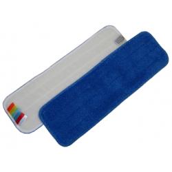 MOP microfibre avec velcro bleu