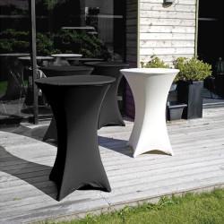 """Location : Table """"Mange-debout"""" pliant PVC"""