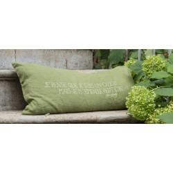 Coussin SMOOTHIE JUNGLE Bedandphilosophy