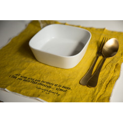 Serviette/Set Bed curry and Philosophy