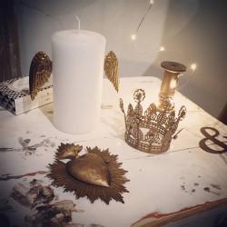 Bijoux de bougies Ailes d'ange