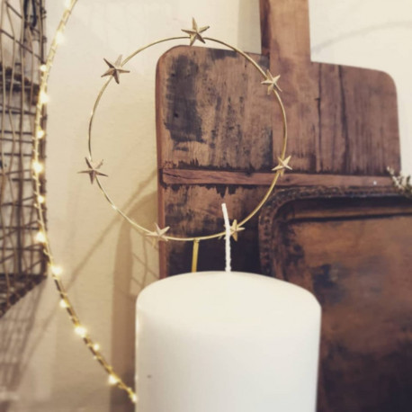 Bijoux de bougies Auréole