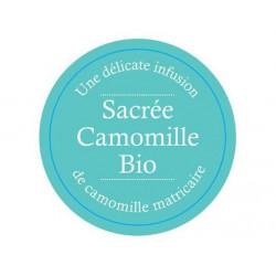 infusion Sacrée Camomille Bio