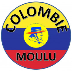 Cafés Colombie moulu