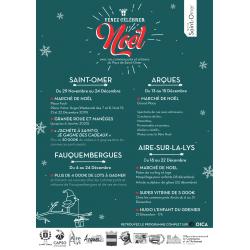 Festivités de fin d'année en Pays de Saint-Omer