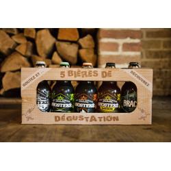 Coffret dégustation - 5 bières régionales