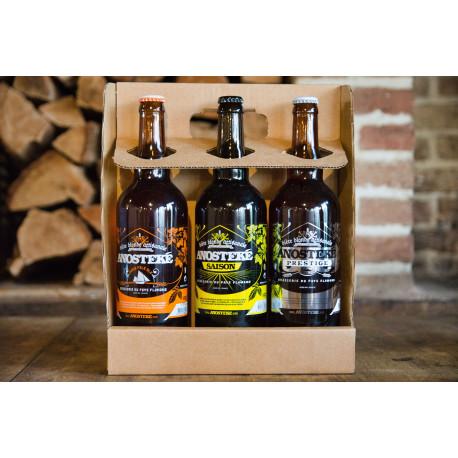 Coffret dégustation Anosteke 75cl - bières régionales