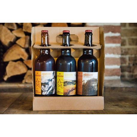 Coffret dégustation De Katsbier 75cl - bières régionales