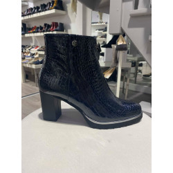 Boots vernis Croco - MUSELLA