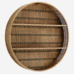 Etagère ronde en bambou