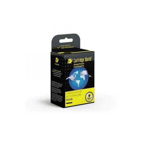 Cartouche d'encre HP302XL black rechargée